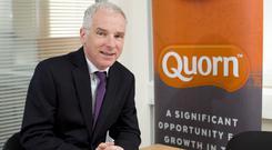 Quorn Foods chief executive Kevin Brennan will stand down in 2020 (Quorn/PA)