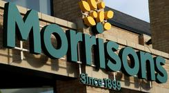 File photo dated 30/09/16 of a Morrisons store. The supermarket has appointed current CFO Trevor Strain and its new COO. (Chris Radburn / PA)