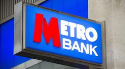 The boss of Metro Bank will step down at the end of 2019 (PA)
