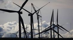 85.2% of Northern Ireland's renewable electricity was generated by wind (Danny Lawson/PA)