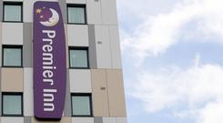 Whitbread is looking to expand Premier Inn abroad (Steve Parsons/PA)