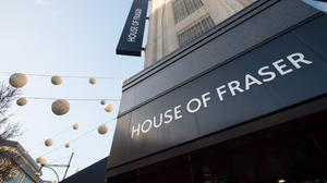 House of Fraser is being sold by its Chinese owners (Dominic Lipinski/PA)