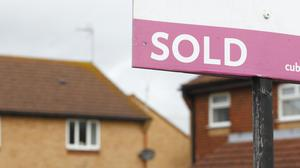 The number of homes being sold in the second quarter of this year dipped to its lowest level in records which started in 2005, HM Revenue and Customs figures show (PA)