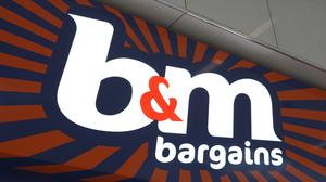 BandM Bargains has seen a boost in DIY and gardening sales as stores remained open during lockdown (BandM/PA)