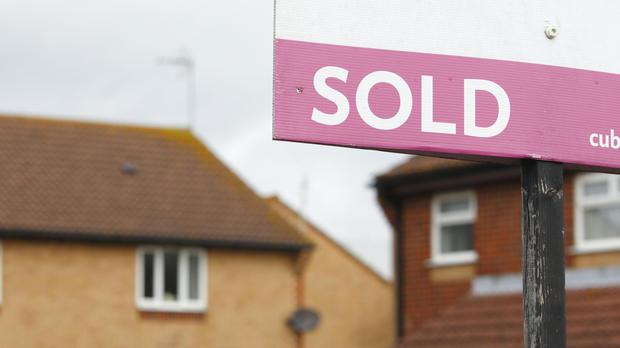 Across the UK, the average property value reached a record high in cash terms in April, standing at £222,915, Nationwide Building Society said (Chris Ison/PA)
