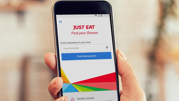 Takeaway delivery firm Just Eat has rebuffed a takeover offer from South Africa's Naspers (Handout)