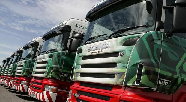 Eddie Stobart has confirmed that Andrew Tinkler has expressed interest in buying the firm (Eddie Stobart/PA)