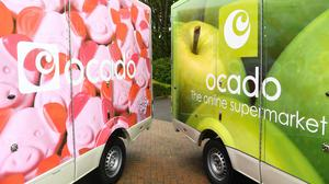 Ocado has revealed sales soared more than 50% in its third quarter (PA)