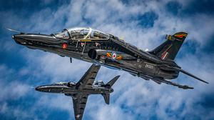 BAE is delivering Hawk jets to Qatar for pilot training (SAC Chris Thompson-Watts/PA)