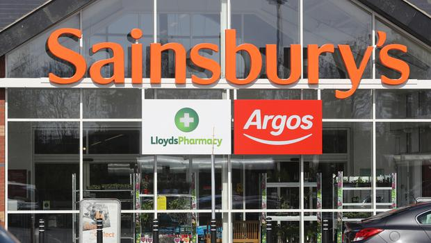 Sainsbury's attempt to merge with rival Asda was blocked by the CMA (Owen Humphreys/PA)