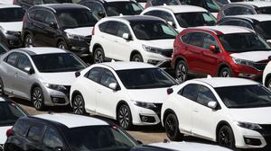 The drop in sales through credit coincides with a decline in new car sales this year
