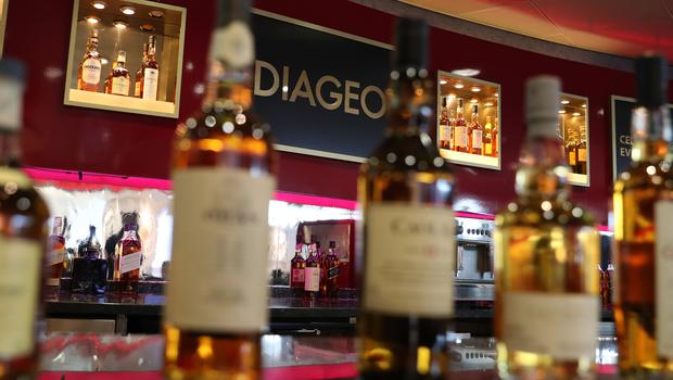 Spirits giant Diageo is expected to post rising profits despite the impact of US whisky tariffs (Andrew Milligan/PA)