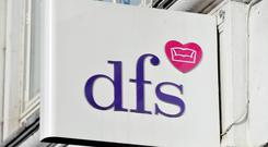 Sofa retailer DFS opens a revamped store in Belfast on Saturday, creating 20 jobs as it brings its sister brand Dwell to Northern Ireland for the first time