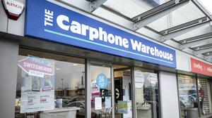 All standalone Carphone Warehouse stores in the UK were closed in April, costing 2,900 jobs (Liam McBurney/PA