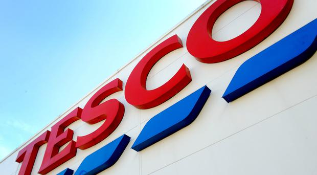 Tesco is preparing to give a trading update (PA)