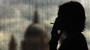 British American Tobacco led the gains on the FTSE 100 (PA)