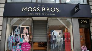Moss Bros has agreed a £22.6 million takeover deal (Yui Mok/PA)