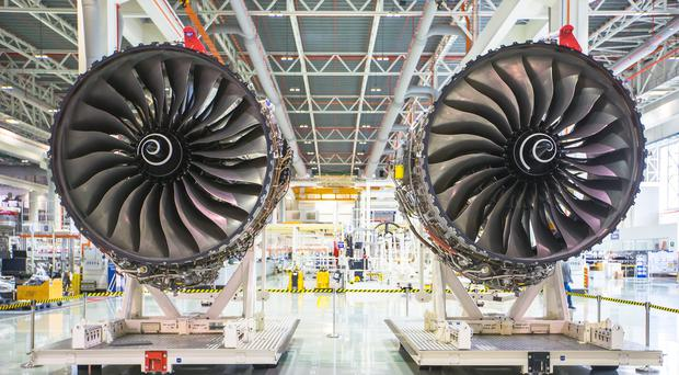 Rolls-Royce is facing extra costs due to problems with its Trent 1000 engines (Rolls-Royce/PA)