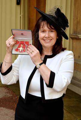 Ms Deane was awarded an OBE for services to entrepreneurship in 2015 (PA)