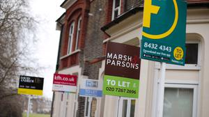 Rental houses are being snapped up by tenants six days faster on average than they were a year earlier, according to Zoopla (Yui Mok/PA)