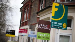 The figures highlighted the 'bleak' situation facing renters as they dealt with the financial impact of the coronavirus pandemic, a charity said (Yui Mok/PA)