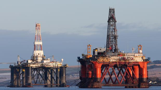 Oil majors have been pulling out of the North Sea as reserves dwindle (Andrew Milligan/PA)