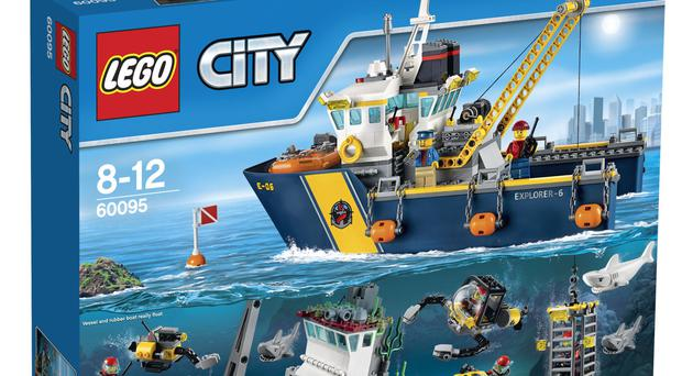 Lego City is one of the Danish toymaker's best-sellers