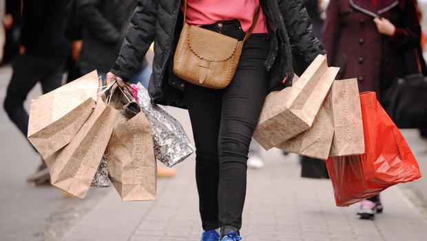 Consumers were unexpectedly cautious in their spending in October, official figures show (Dominic Lipinski/PA)