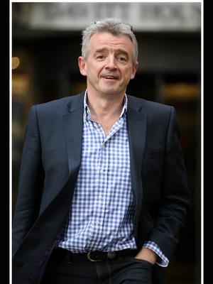 Airline chief: Michael O'Leary