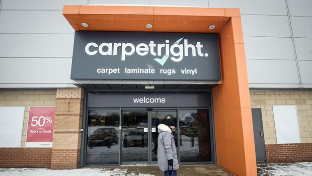 Carpetright has obtained an unsecured loan of £15m (Danny LawsonPA)