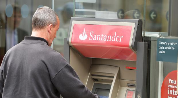Santander kept its outlook for the year more or less unchanged, as long as the UK has an 'orderly exit' from the EU (John Stillwell/PA)