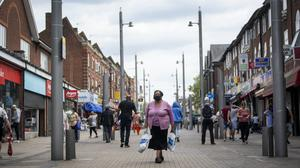 High streets have tentatively started to reopen after weeks of lockdown (Victoria Jones/PA)