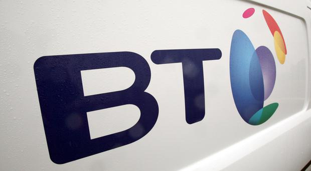 BT's shares stumbled as it lost a contract with Virgin to Vodafone. (Paul Faith/PA)
