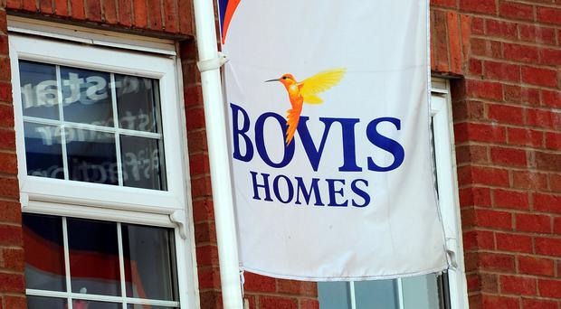 Bovis hopes the deal will let it compete with the major players, including Persimmon, which reported a drop in sales on Thursday (Rui Vieira/PA)