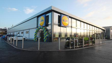 One of Lidl's new concept stores in Ballymoney