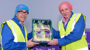 Angus Wilson, chairman, and Lewis Cunningham, managing director, Wilson's Country.