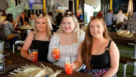 Robyn Norris, Lauren McCord, and Katie Thompson, from Newtownabbey.