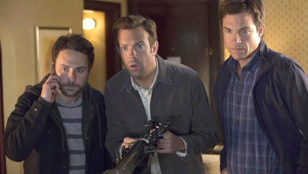 Thick as thieves: from left, Charlie Day, Jason Sudeikis and Jason Bateman in Horrible Bosses 2
