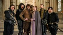 Making history: the cast of the anarchic Bill