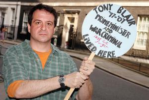 Right on: comedian Mark Thomas isn't one to shy away from sharing his views