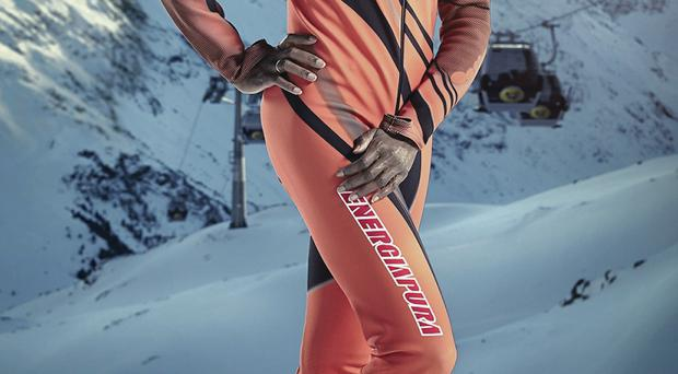 Sinitta on TV show The Jump