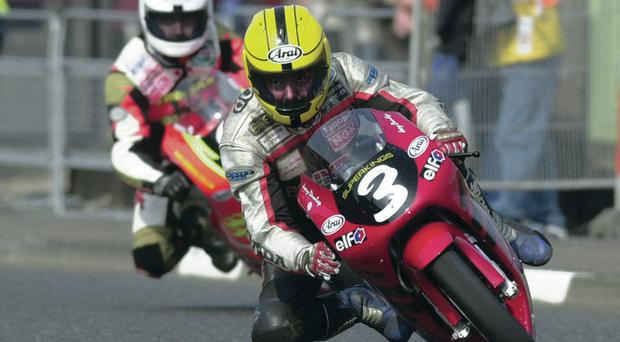 Competitive spirit: Joey and Robert Dunlop paid the ultimate price for their passion