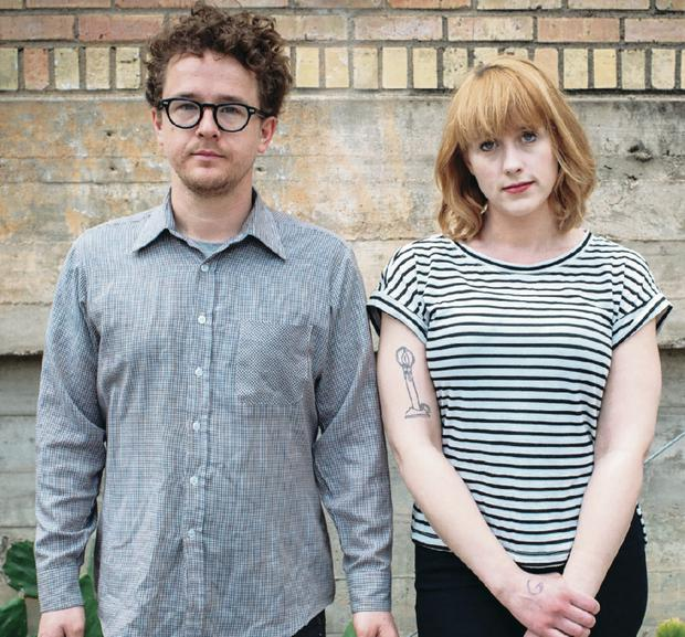 Next stop: Andy Stack and Jenn Wasner of Wye Oak