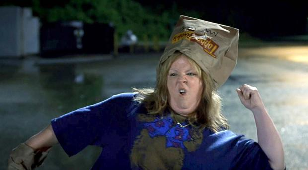 No laughing matter: Melissa McCarthy in Tammy