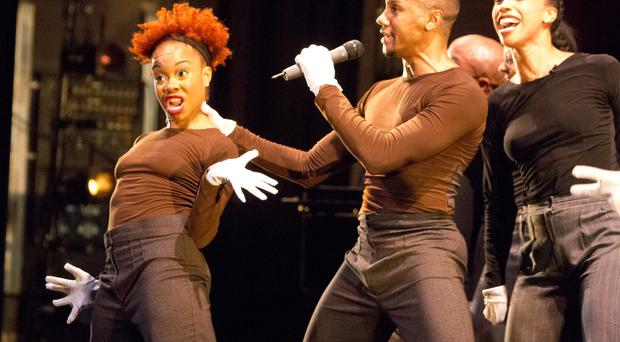 Camille A Brown and her dancers made their European debut at the Mac last night