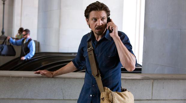 On the case: Jeremy Renner, as reporter Gary Webb, uncovers a trail of government corruption