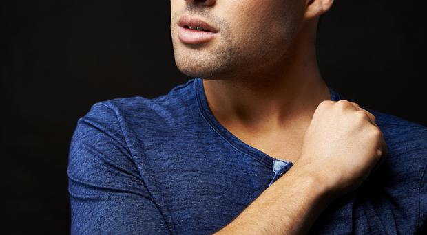 Stronger now: Joe McElderry is enjoying singing live again; he says Simon Cowell gave him a great opportunity