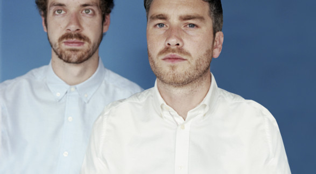 Kindred spirits: Lar Kaye (left) and Conor Adams from All Tvvins