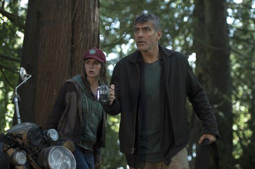 Sparkling display: Britt Robertson and George Clooney shine in Tomorrowland: A World Beyond