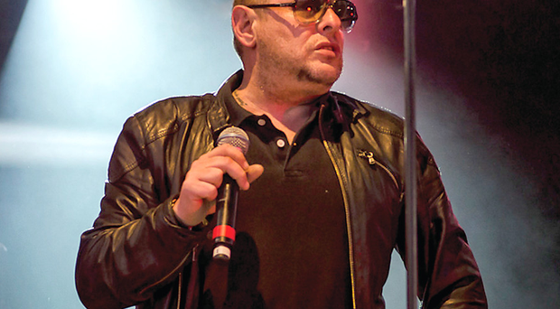 Grape expectations: Shaun Ryder's happy to be on stage again